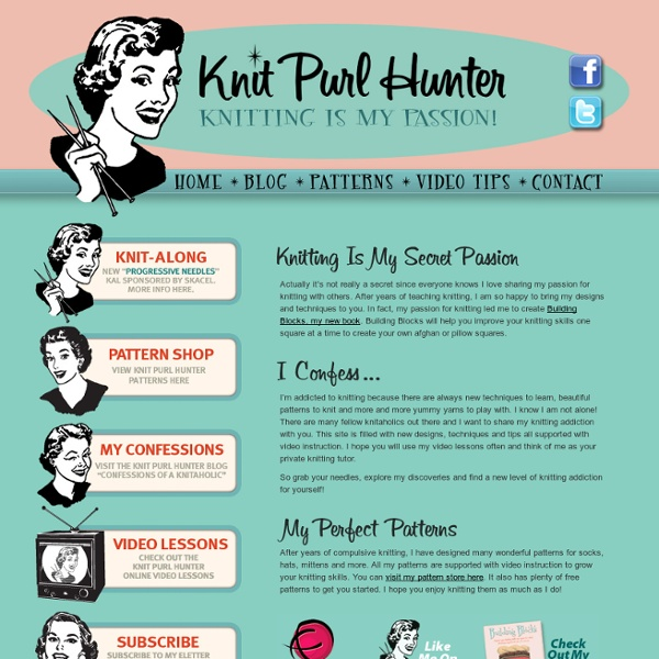 Welcome to Knit Purl Hunter!