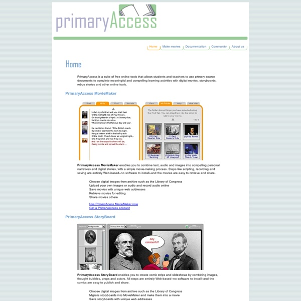 Welcome to PrimaryAccess