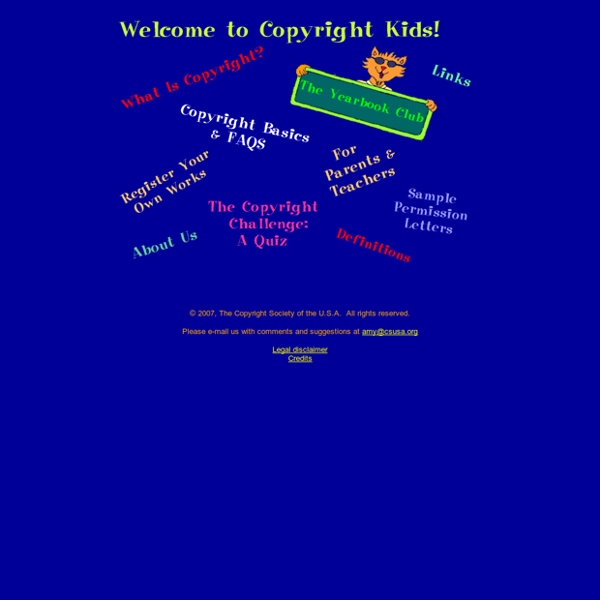 Copyright kids