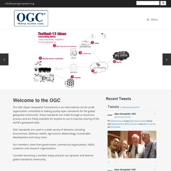 Welcome to the OGC