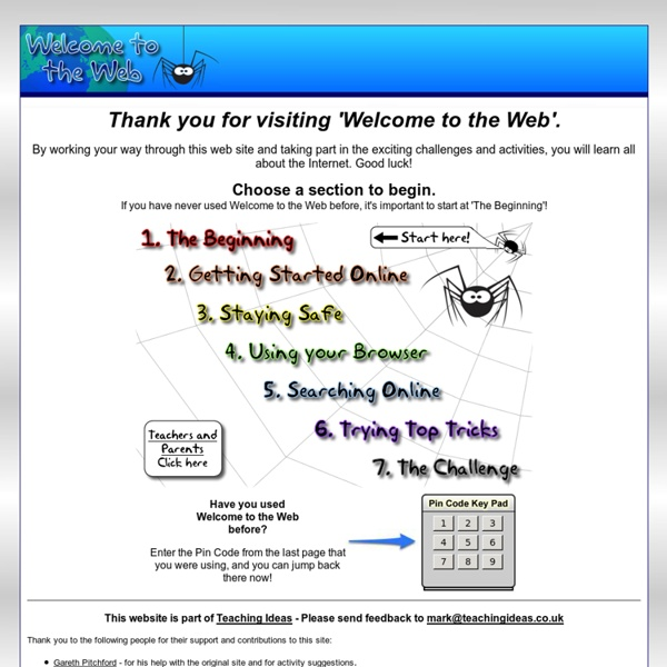 Welcome to the Web