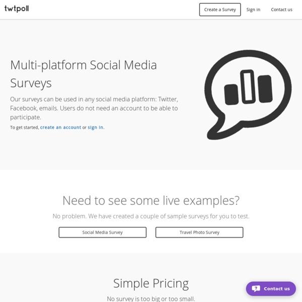 Social Survey Platform