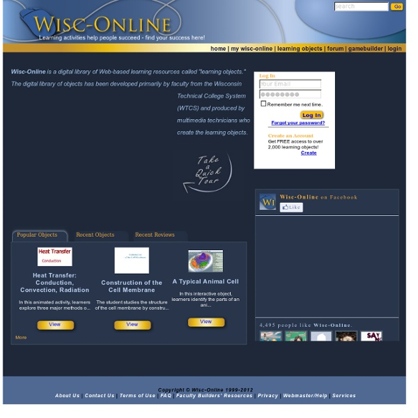 Welcome to Wisc-Online.com