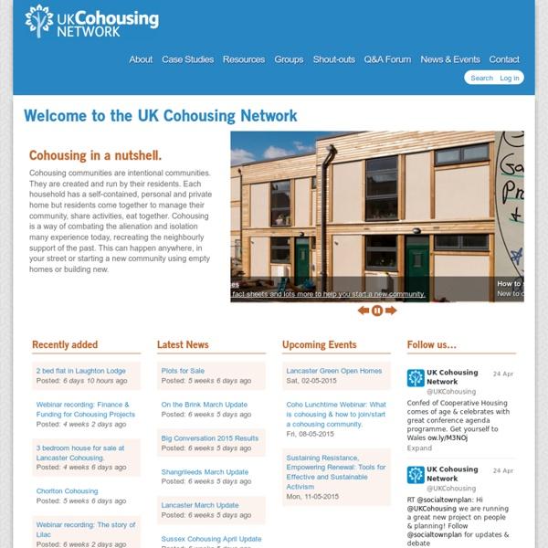 Cohousing Network