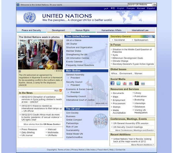 Welcome to the UN (official)