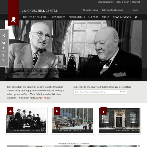 Welcome to WinstonChurchill.org