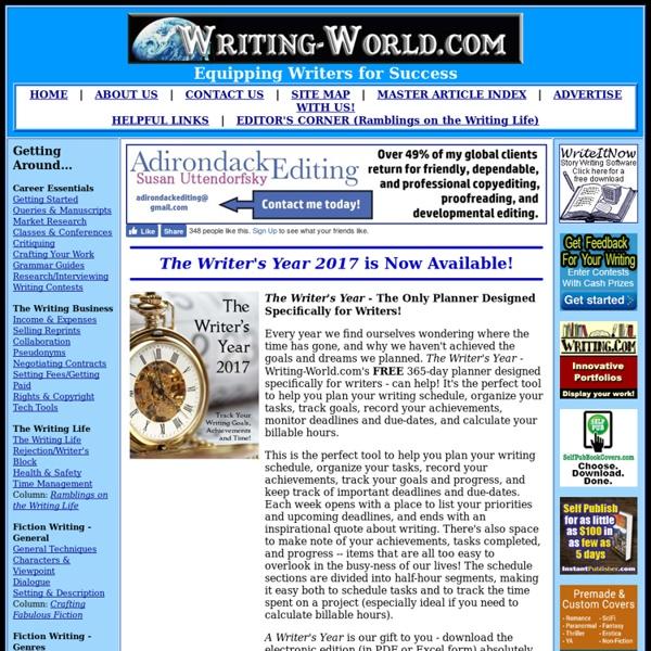 Welcome to Writing-World.com!