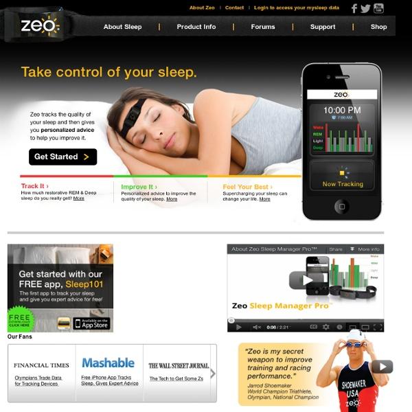 Welcome to Zeo Sleep Manager