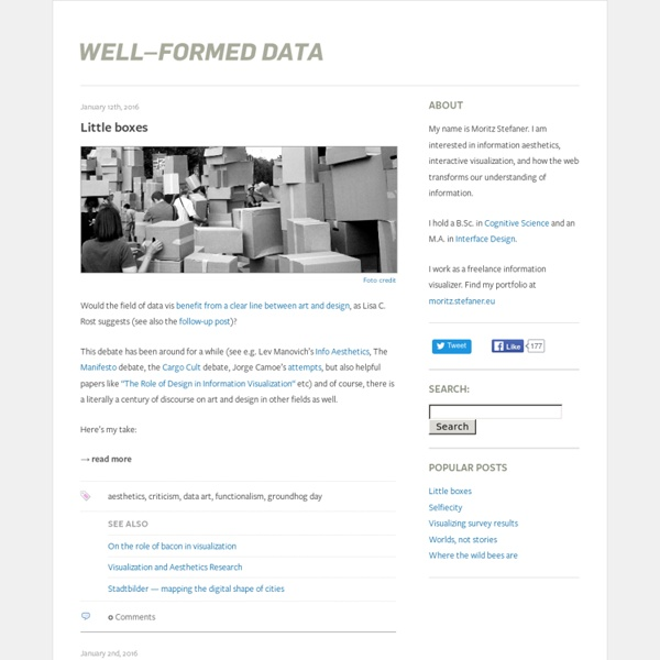 Well-formed data