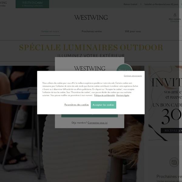 Westwing Home & Living: Ventes privées de meubles...