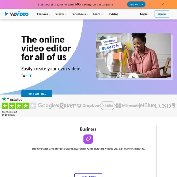 WeVideo - Free Online Video Editor & Maker