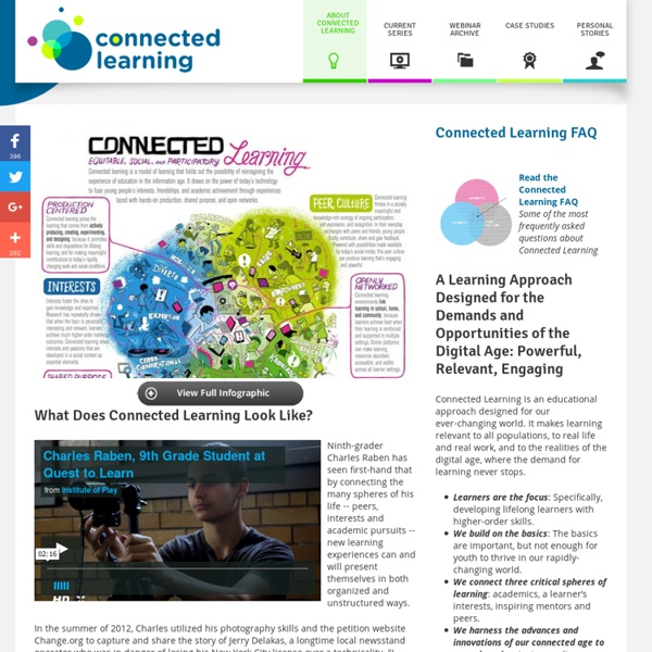 What is Connected Learning