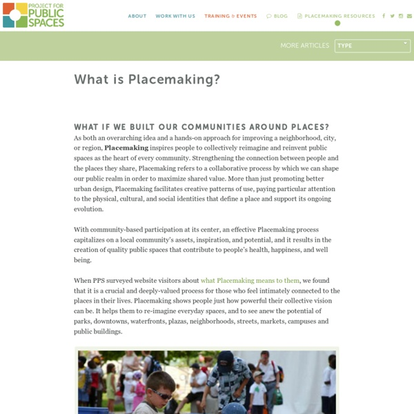What is Placemaking?