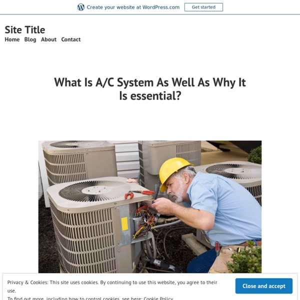 Industrial HVAC Equipments - Basic Style And Performance Of Straight Fire Heating Systems