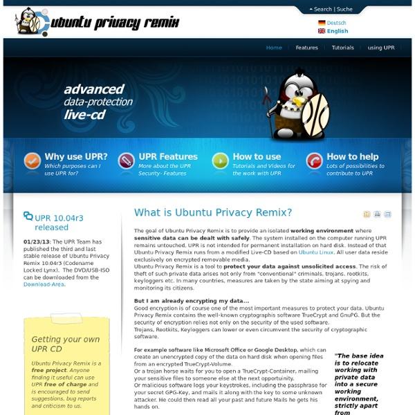 Ubuntu privacy remix
