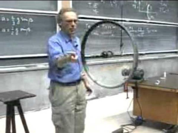 Volant d'inertie Walter Lewin.wmv