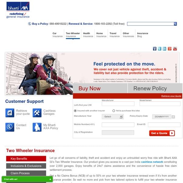 Bike Insurance Renewal