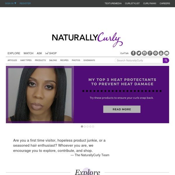 Where Curls Come to Life - NaturallyCurly.com