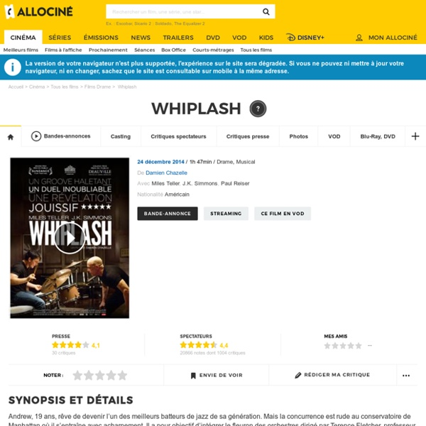 *Whiplash - film 2014