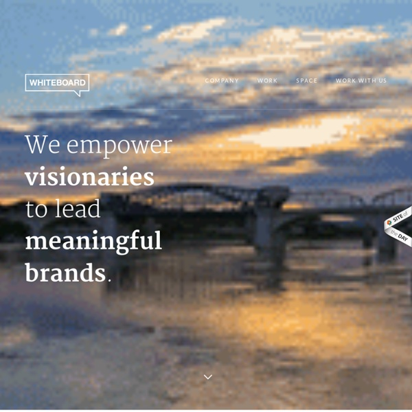 We empower visionaries to lead meaningful brands.