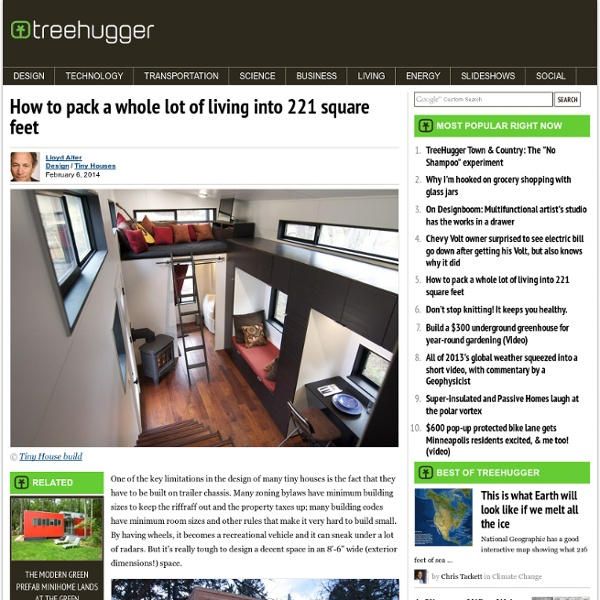 How to pack a whole lot of living into 221 square feet