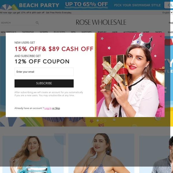 Wholesale Clothing, Cheap Clothes Online, Discount Clothing Shop - Rosewholesale.com