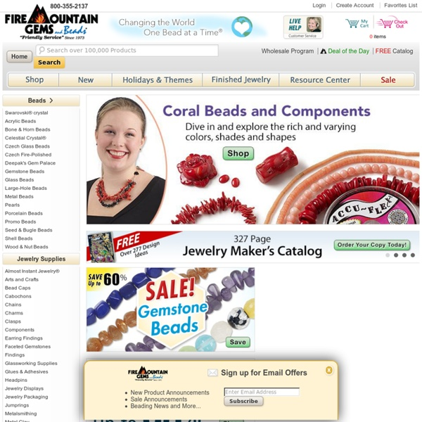 Wholesale Beads and Jewelry Making Supplies