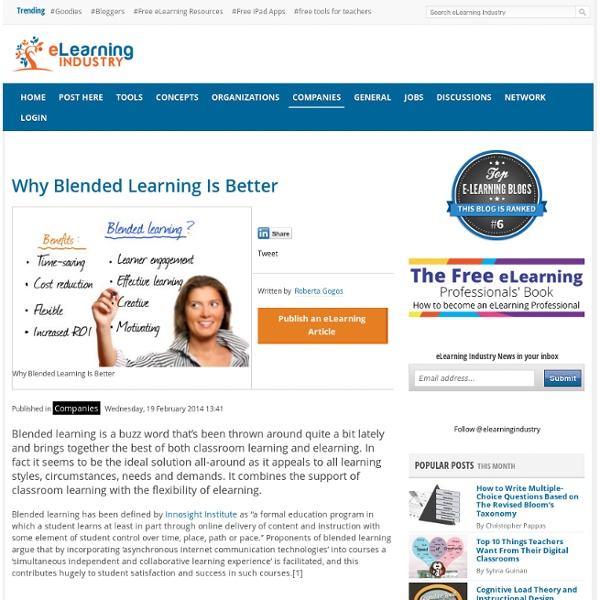 Why Blended Learning Is Better?