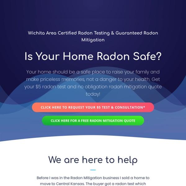 Wichita Radon Mitigation & Radon Testing