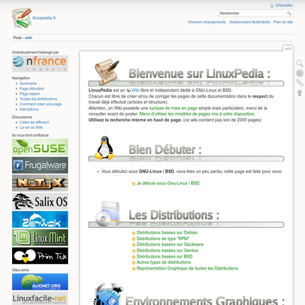 Wiki [LinuxPedia]