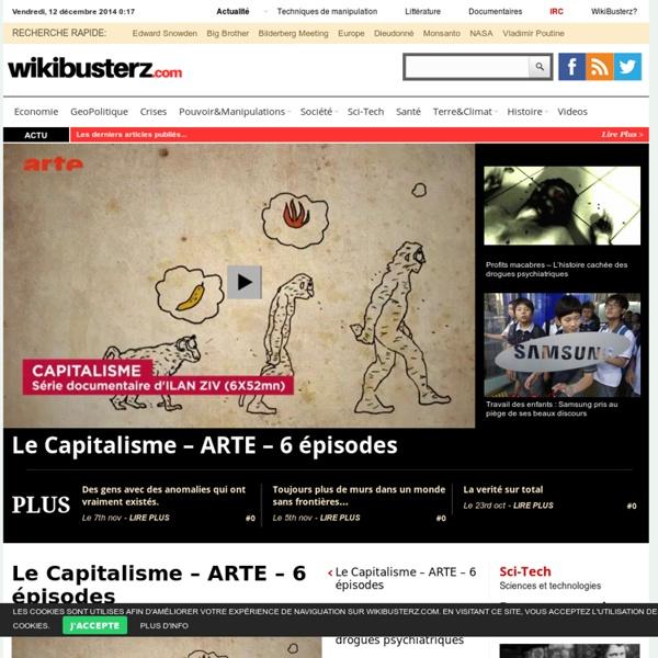 WikiBusterZ - Le Condensé d'Actu Politiquement Incorrect!