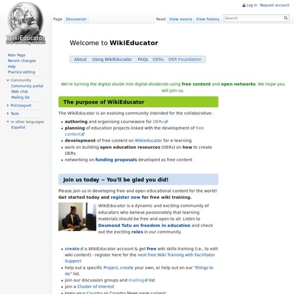 WikiEducator