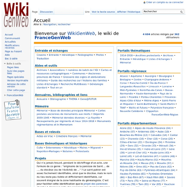 WikiGenWeb