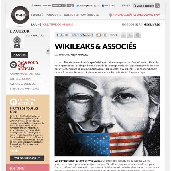 WikiLeaks – Anonymous et associés