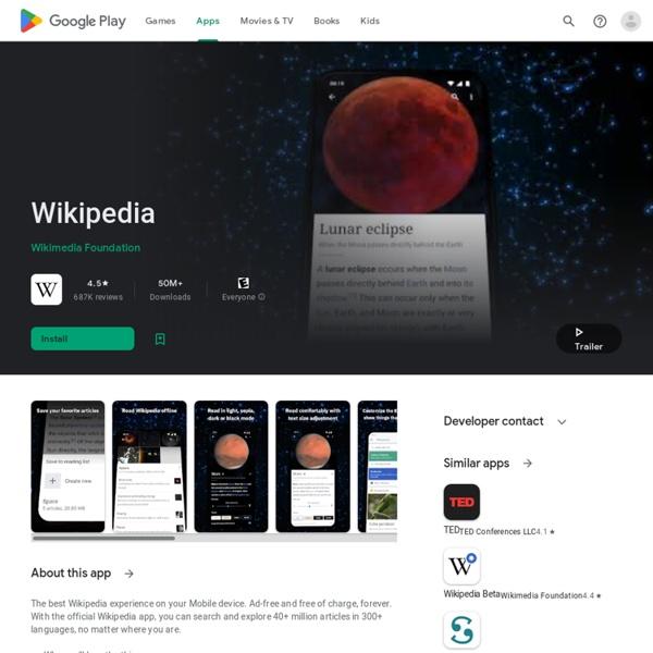 Wikipedia Mobile –
