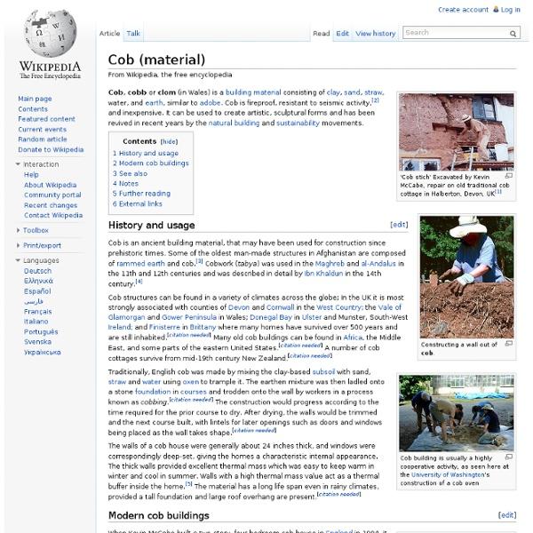Cob (material)