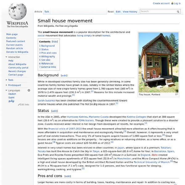 Small house movement