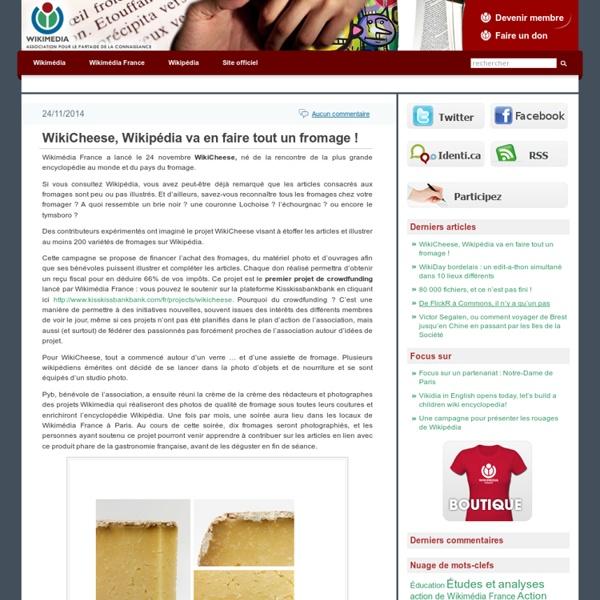 Blog sur Wikipédia et les projets Wikimedia. Les critiques, l'actualité, les études et les informations générales