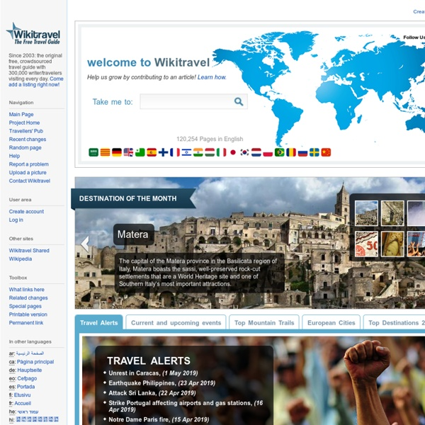 Free Worldwide Travel Guides