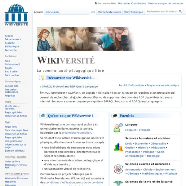 Wikiversité-communauté pédagogique