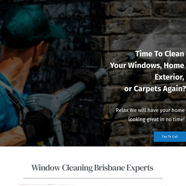 Window Cleaning Brisbane - Clean Your Home