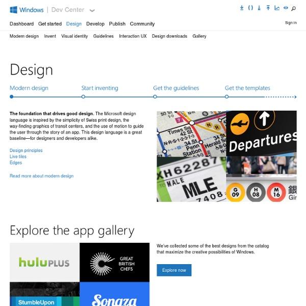 Designing UX for apps