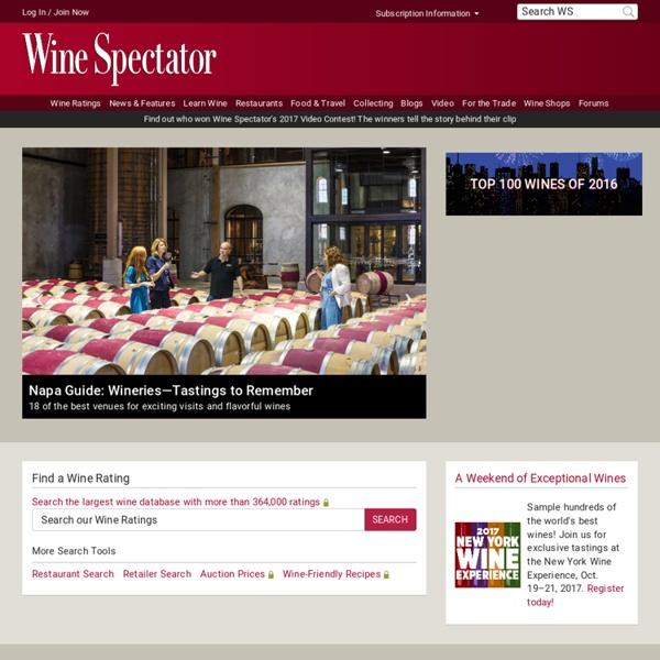 Wine Spectator Home