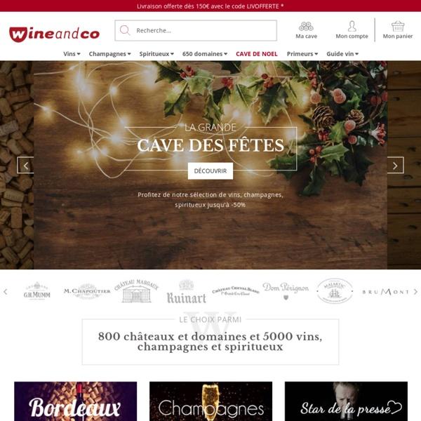 Wineandco : Votre Caviste en ligne - Achat vin - 5000 vins