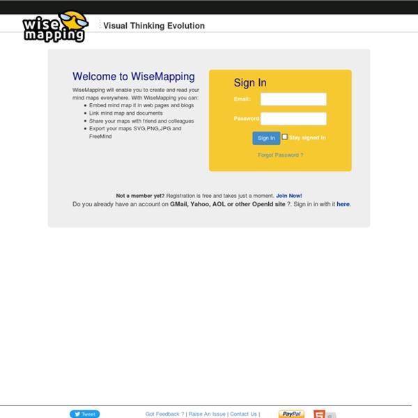 WiseMapping : gratuit, libre et collaboratif