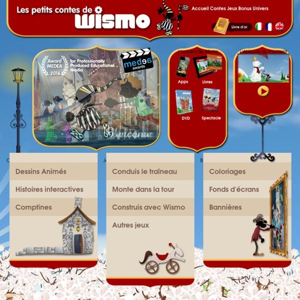 Contes - dessins animés - jeux