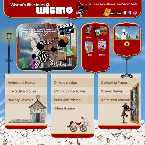 Wismo - contes - dessins animés - jeux