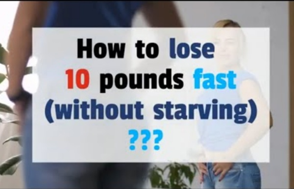 How to lose weight fast without starving or exercise