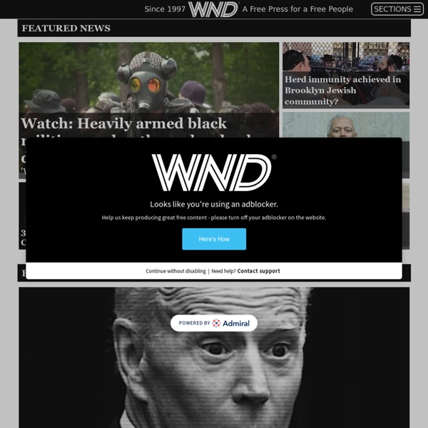 WND - A Free Press for a Free People