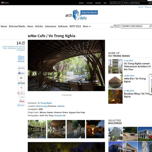 wNw Cafe / Vo Trong Nghia